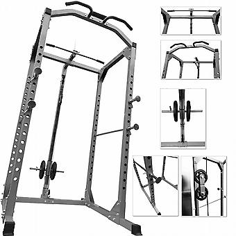 BodyRip alimentation usage intensif solide rack Squat Gym Cage Déroulez Seated Curl Arm