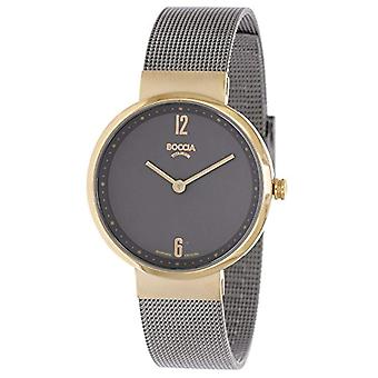 Boccia Ladies Quartz analogue watch with stainless steel band 3283-02