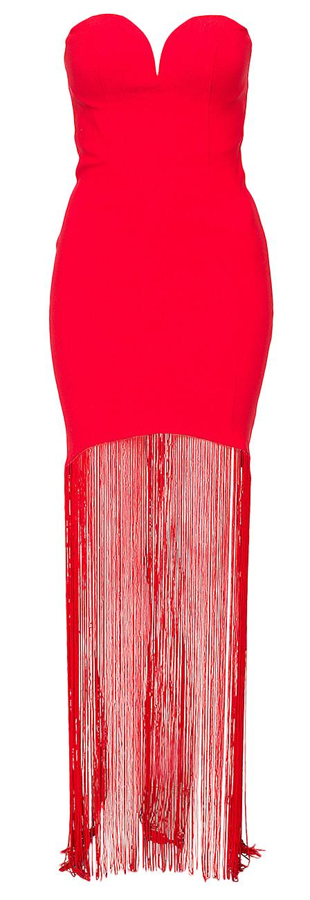 Waooh - Dress with fringe Goll