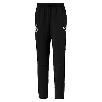 PUMA BMG training Jr with pockets with zippers children pants black