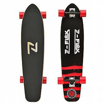 ZFLEX Kicktail Longboard rojo - ZFXL0014