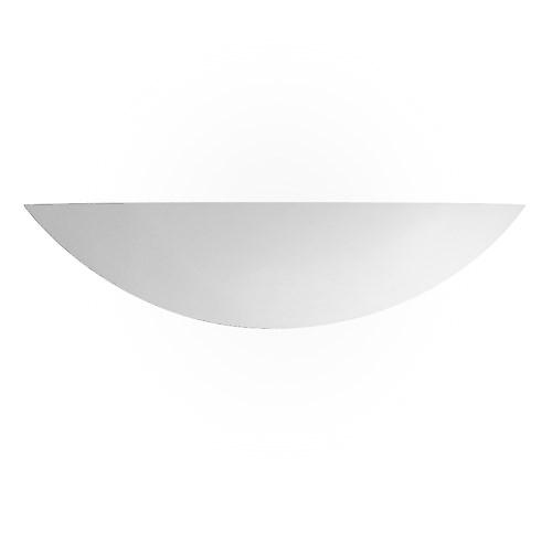Searchlight 102 Miami Modern Plaster Wall Uplighter Paintable