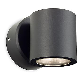 Firstlight - Single Outdoor Wall Light Graphite IP54 - 2335GP