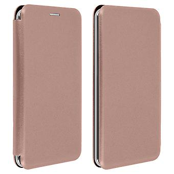 Smartphone Case 5,4 to 6 '' Universal Card Holder Function Rose gold