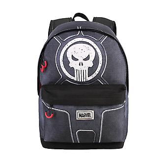 Marvel Punisher logo gris sac à dos pour ordinateur portable
