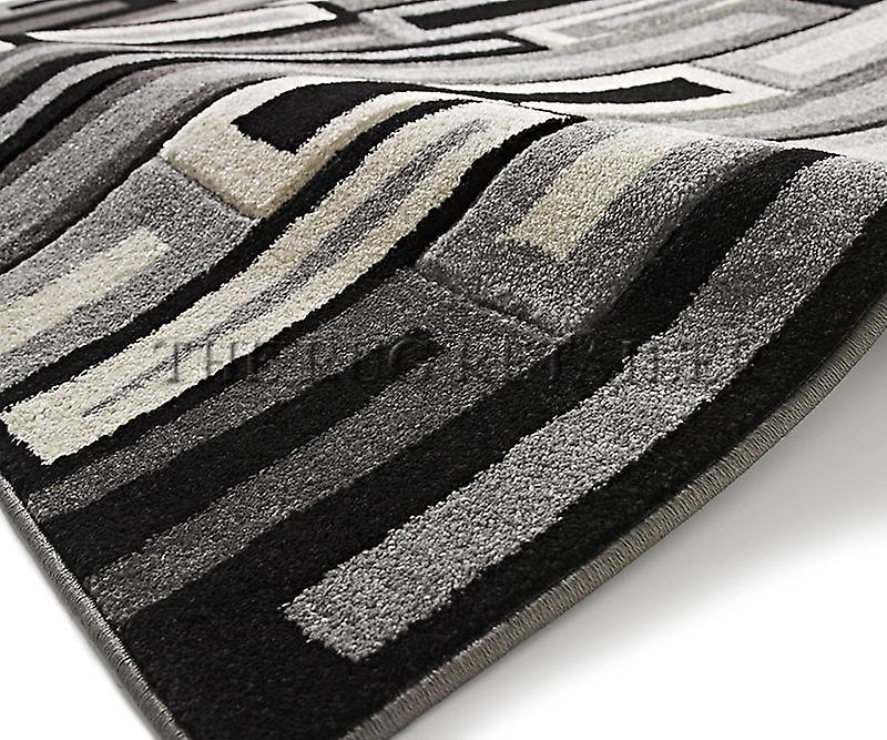 Rugs - Mantra FR40 - Grey & Black