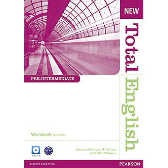 New Total English Pre-Intermediate Workbook with Key and Audio CD Pac