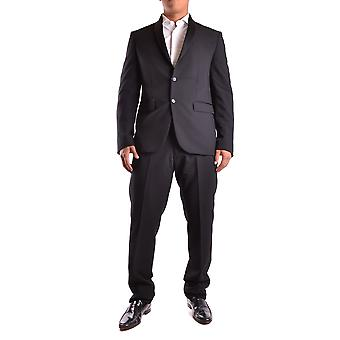 Marciano Black Polyester Suit