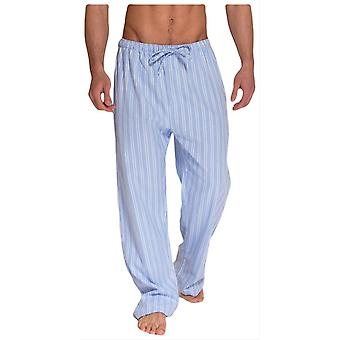 British Boxers Westwood Two Fold Flannel Pyjama Trousers - Blue