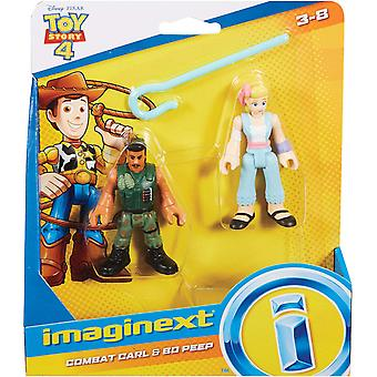 Imaginext Disney Toy Story GFD13 Little Bo Peep and Combat Carl