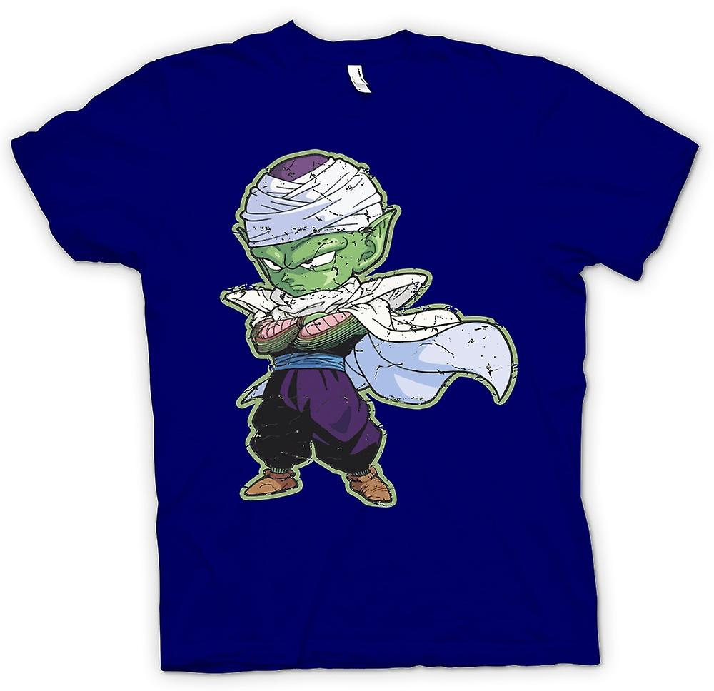 Mens t-skjorte-Piccolo - Dragon Ball Z - kul Retro