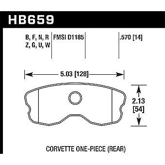 Hawk Performance HB659N.570 HP Plus