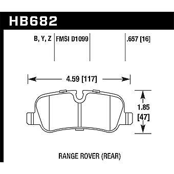 Hawk Performance HB682Z.657 PC