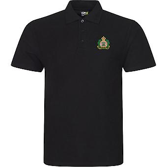 Suffolk Regiment Colour - Licensed British Army Embroidered RTX Polo