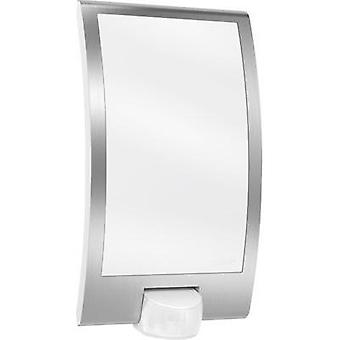 Outdoor wall light (+ motion detector) LED E27 60 W Steinel L 22 009816 Stainless steel