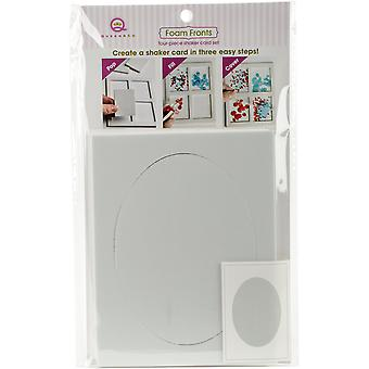 Queen & Co Foam Front Card Kit-Oval QFF-987
