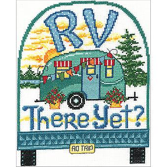 RV There Yet? Counted Cross Stitch Kit-7.5