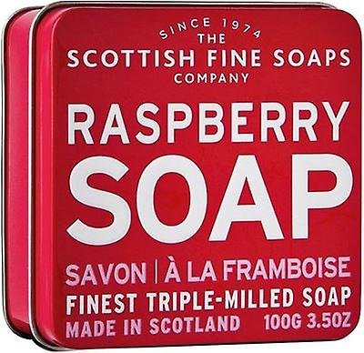 Schotse fijne zepen Raspberry Soap Tin