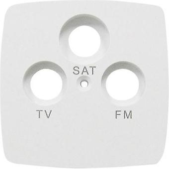 GAO Cover SAT socket Trend White EF