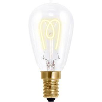 LED E14 Droplet 2.7 W = 9 W Warm white (Ø x L) 45 mm x 108 mm EEC: A Segula dimmable, Filament 1 pc(s)