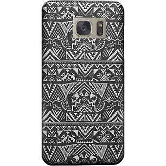 Pug cover voor Galaxy S6 Tribal rand