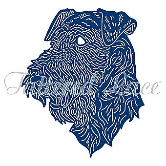 Tattered Lace Airedale Terrier Die