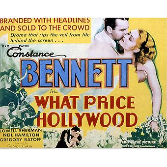 What Price Hollywood Neil Hamilton Constance Bennett 1932 Movie Poster Masterprint