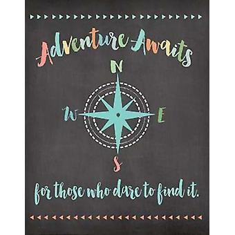 Adventure Awaits Poster Print by Jo Moulton