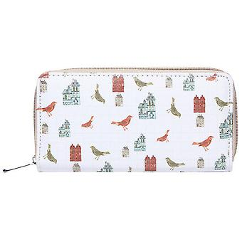 Jewel City Printed Wallet Birds And Castles