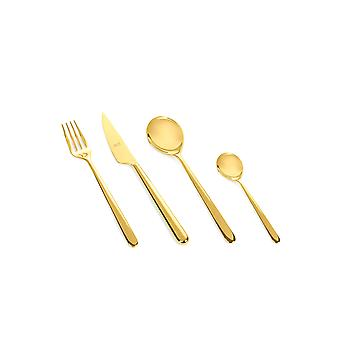 Mepra Linea Oro 4 pcs flatware set