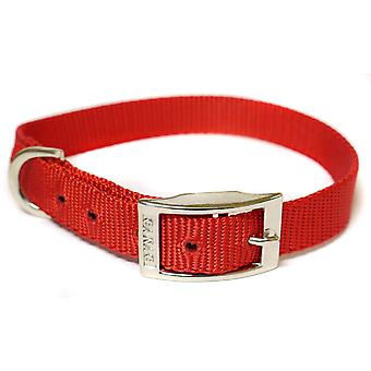 CANAC Single kraag 16mmx30 - 35cm rood