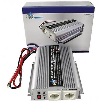 HQ Power Inverter Modified sine wave 12 VDC-AC 230 V 1000 W F (CEE 7/3)