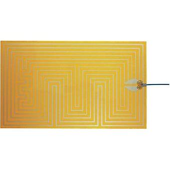 Heating foil self-adhesive 12 Vdc, 12 Vac 25 W Protection type IPX4 (L x W) 500 mm x 300 mm Thermo