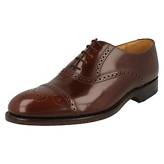 Mens Loake Formal Lace Up Brogue Shoes Oban