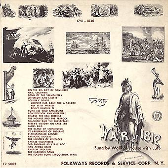 Wallace House - Ballads of the War of 1812 1791-1836 [CD] USA import