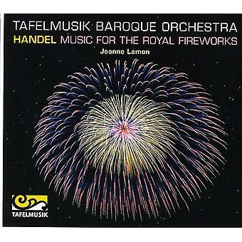 G.F. Händel - Händel: Musik til Royal fyrværkeri [CD] USA importen