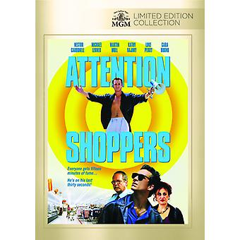 Aandacht Shoppers [DVD] USA import