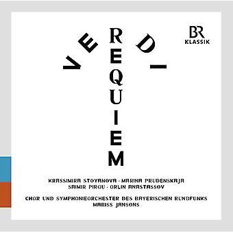 Verdi / Jansons / Stoyanova / bayerske Radio Sym - Messa Da Requiem [CD] USA import