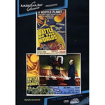 Battle of the Worlds (1961) [DVD] USA import