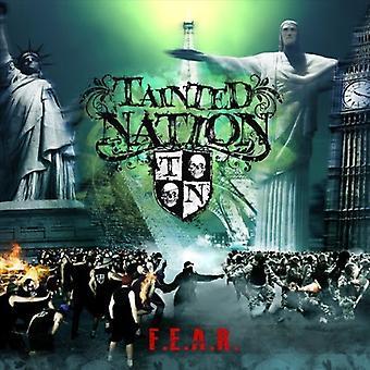 Plettet Nation - Fear [CD] USA importerer