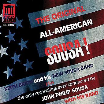 J.P. Sousa - l'originale All-American Sousa! [CD] USA importazione
