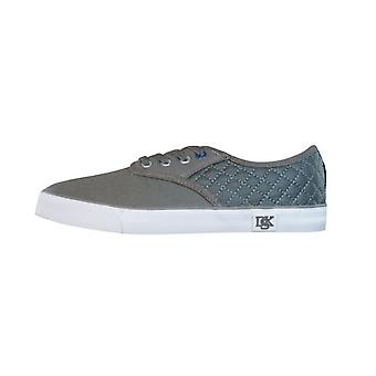 Nicholas Deakins Sensei Mens Canvas Trainers / Shoes - Grey