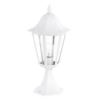 Eglo Navedo 1 Light Outdoor Post Lamp White IP44