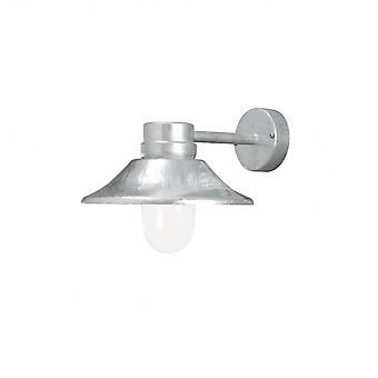 Konstsmide Vega Wall Lamp Galvanized LED