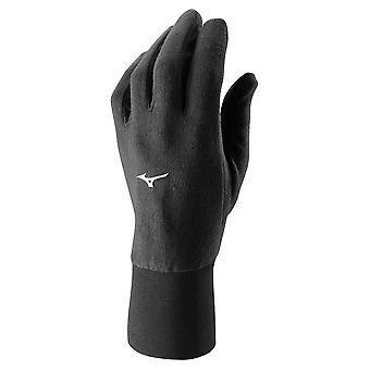 Mizuno Breath Thermo Mid Weight Fleece Glove Laufhandschuh Schwarz - 73BK26209
