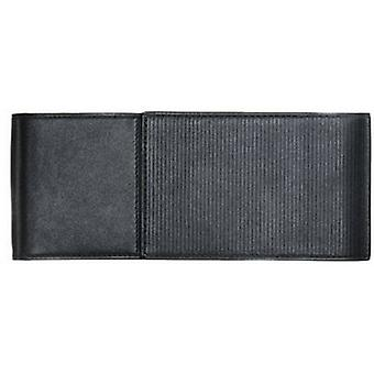 Lamy Triple Soft Embossed Leather Pen Case - Black