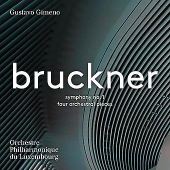 Bruckner / Gimeno - Antón Bruckner: importación de Estados Unidos Sinfonía No 1 & 4 orquestal [SACD]