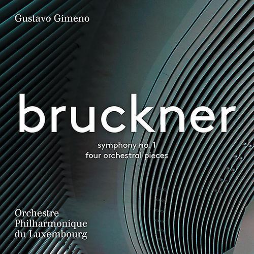 Bruckner / Gimeno - Anton Bruckner: Symphony No 1 & 4 Orchestral [SACD] USA import