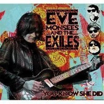 Eve Monsees & de ballingen - u weet dat ze deed [CD] USA import