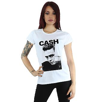 Johnny Cash kvinders grundede Look T-Shirt